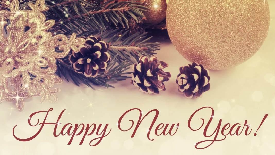 Shining Happy New Year