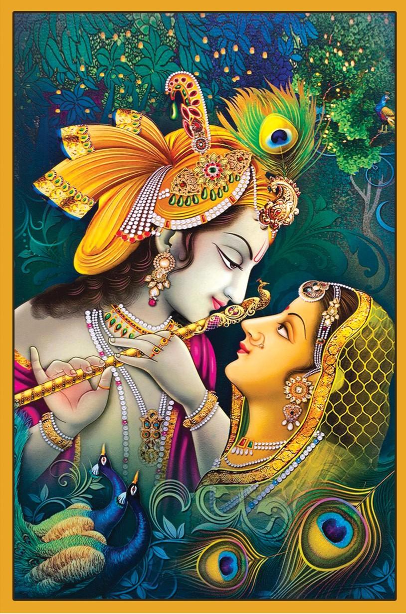 Radha Krishna Beautiful Image