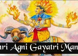 Shri Agni Gayatri Mantra