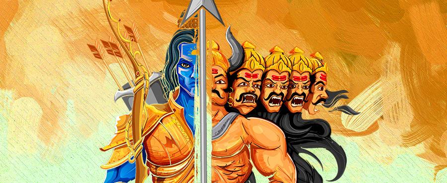 Rama Ravana Face-off