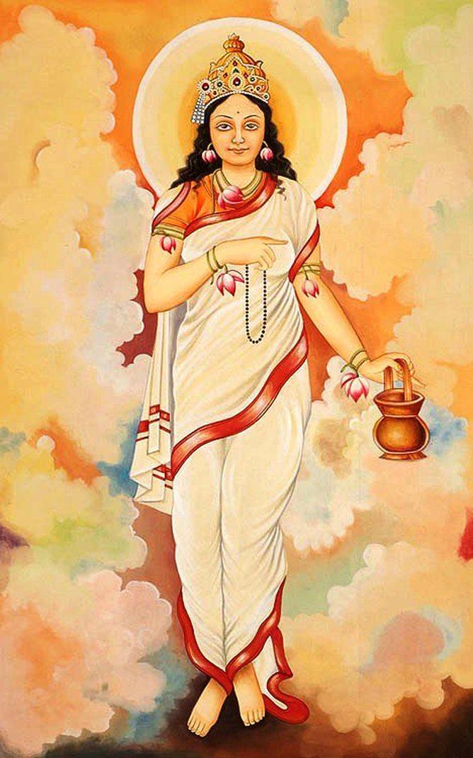 Brahmacharini Mata Standing