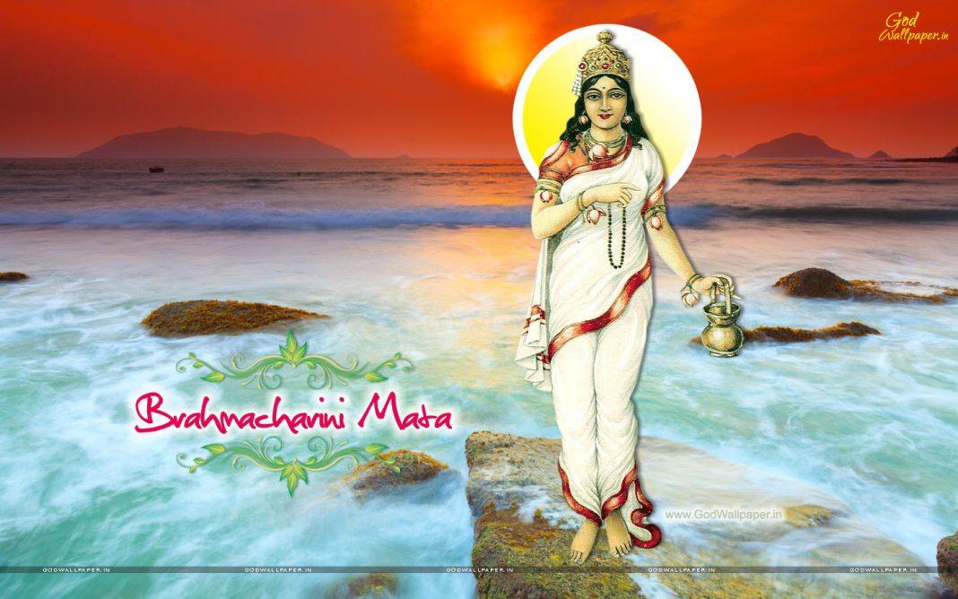 Brahmacharini Mata Wallpaper