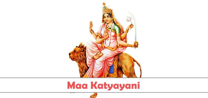 Maa Katyayani Sixth Form of Nava-Durgas