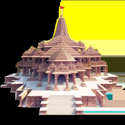 Sri Ram Temple Transparent