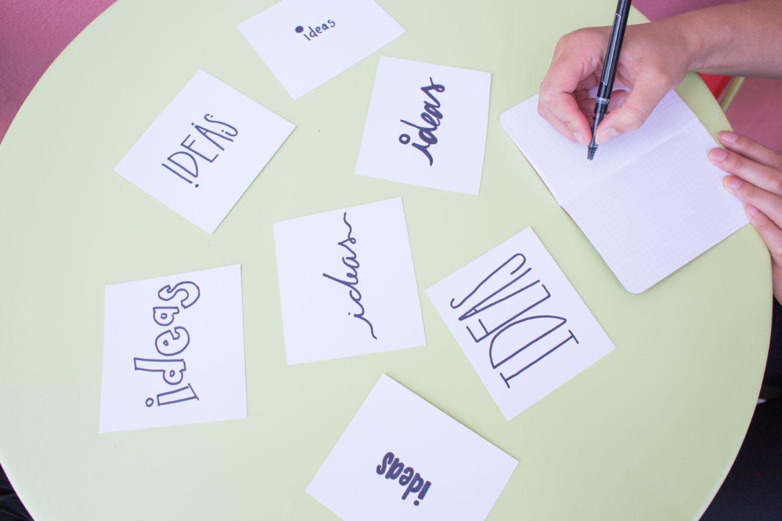 Come realizzare un'idea