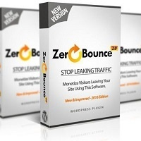 Reduce Your Site's Bounce Rate and Increase Profits with WP Zero Bounce 2.0