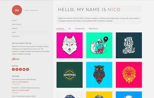 CSS Igniter Nico WordPress Theme