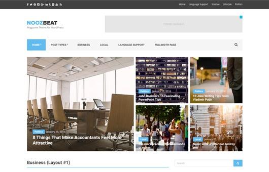 CSS Igniter Noozbeat WordPress Theme 1