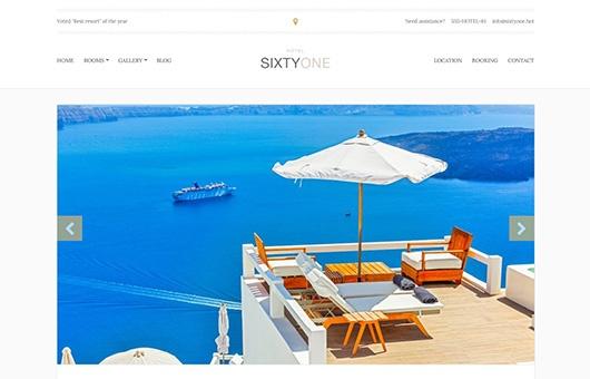 CSS Igniter Sixtyone WordPress Theme