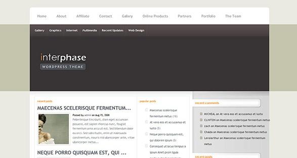 Elegant Themes InterPhase WordPress Theme