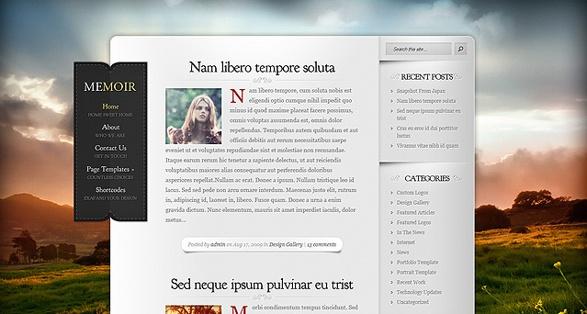 Elegant Themes Memoir WordPress Theme