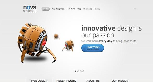Elegant Themes Nova WordPress Theme