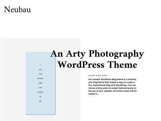 elma studio neubau wordpress theme
