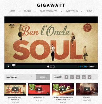 Obox Themes Gigawatt WordPress Theme