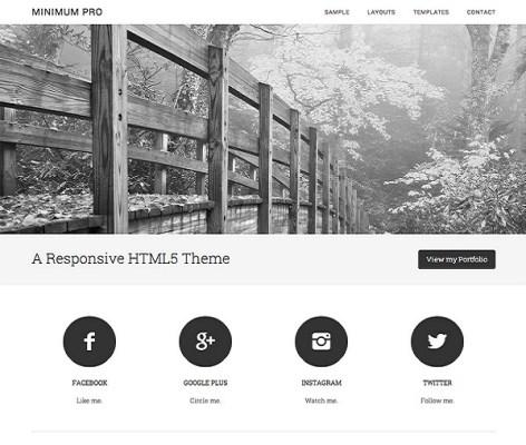 StudioPress Minimum Pro WordPress Theme