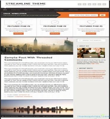 StudioPress Streamline Pro WordPress Theme