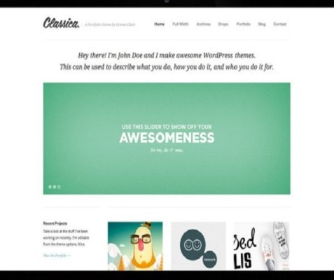 ThemeZilla Classica WordPress Theme