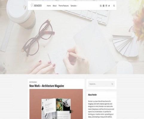 ThemeZilla Render WordPress Theme