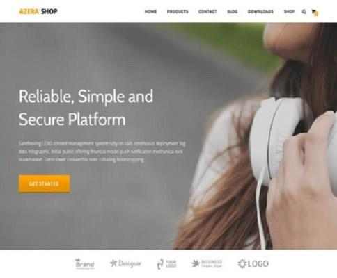 Themeisle Azera Shop Plus WordPress Theme