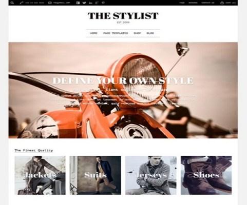 obox themes the stylist wordpress theme