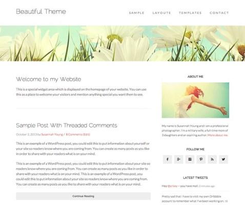 studiopress beautiful pro wordpress theme
