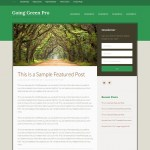 studiopress going green pro wordpress theme