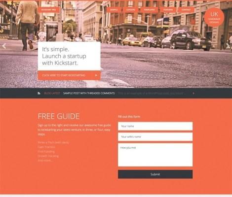 studiopress kickstart pro wordpress theme