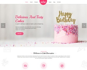 Premium Moto Theme Cake Decoration 1