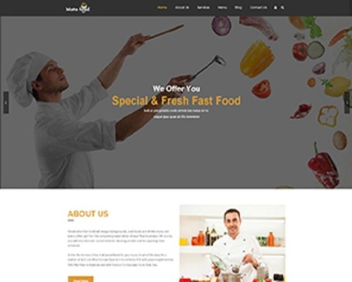 Premium Moto Theme Fast Food