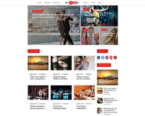 Premium Moto Theme News and Magazine