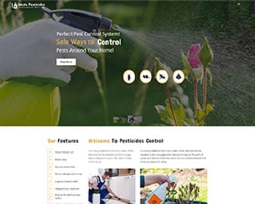 Premium Moto Theme Pesticides Control 1