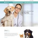 Premium Moto Theme Pets Care
