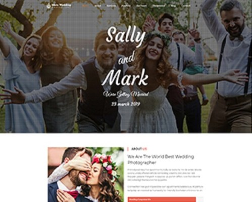 Premium Moto Theme Wedding Photography