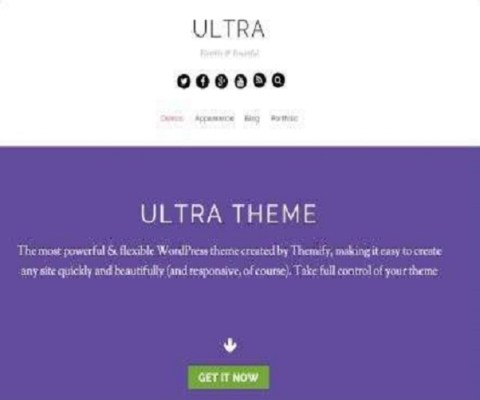 Themify Ultra WordPress Theme