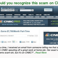 Would you recognize this scam on CNBC?