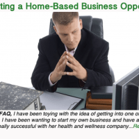 Evaluating a home-based business opportunity