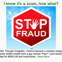I know it's a scam, now what?
