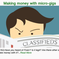 Making money with micro-gigs