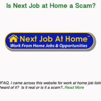 Is Next Job at Home a Scam?