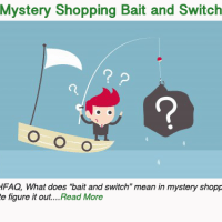 Mystery Shopping bait and switch