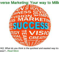Reverse Marketing: Your way to millions