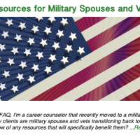 Resources for Military Spouses and Vets