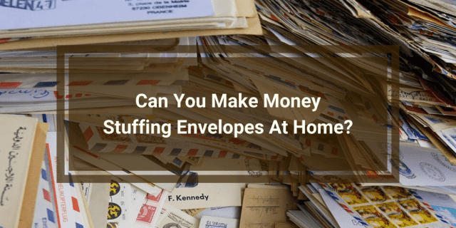 Make Money Stuffing Envelopes