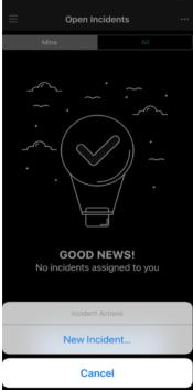 A screenshot of the PagerDuty app.