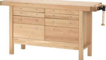 Windsor Design Workbench With 4 Drawers 60 Hardwood Workbench Shop