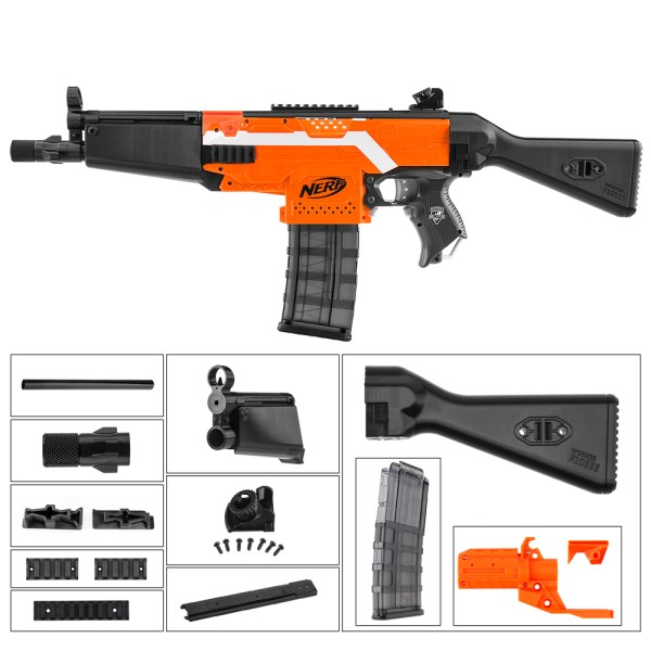 Worker Nerf Worker Mod F10555 Nerf Mod Kits For Nerf