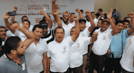 AB InBev Honduras: STIBYS secures hundreds of permanent jobs for outsourced workers
