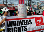 workers take global action against repression