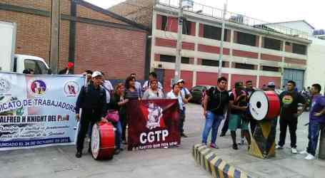 Peru: union protests violations of labour rights