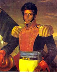 President Vicente Guerrero<br>of Mexico.